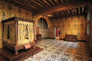 Chambre du roi Henri III, château de Blois