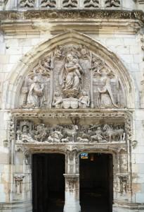 Chapelle du château d'Amboise, lieu de résidence de Léonardo Da Vinci
