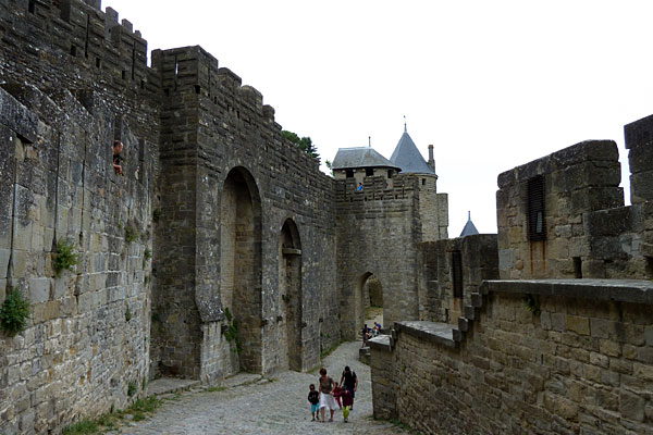 Des photos de la cité de Carcassonne