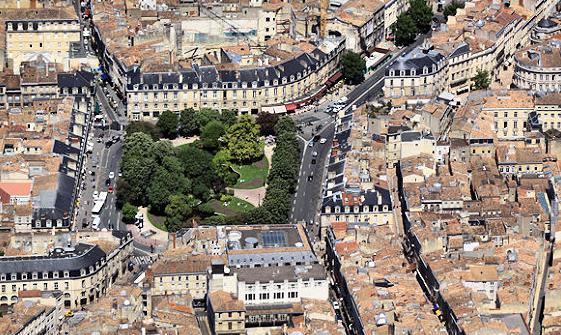 La Place Gambetta à Bordeaux