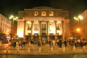 façade de l'opera de Marseille