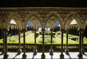 L'extérieur de l'abbaye Mont Saint Michel