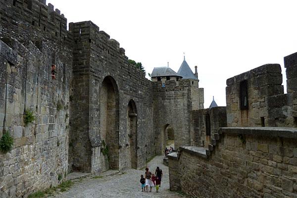 Des photos de la cité de Carcassonne