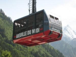 Photos du téléphérique de l'Aiguille du Midi