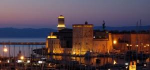 Fort Saint-Jean la nuit