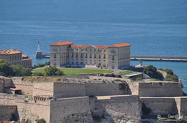 Palais et Parc du Pharo à Marseille