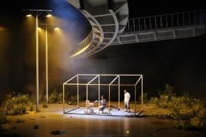 Spectacle théatral à l'opéra de Marseille