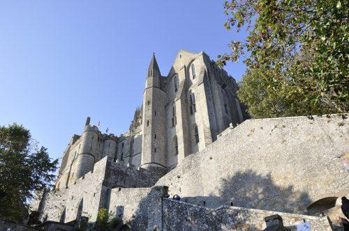 monument historiques au Mont Saint-Michel