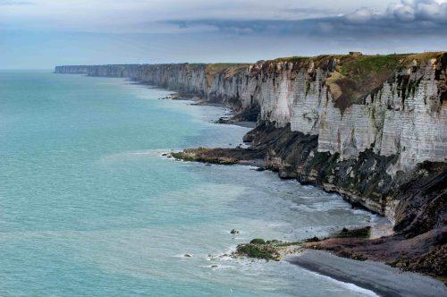 La côte d'albâtre en Normandie