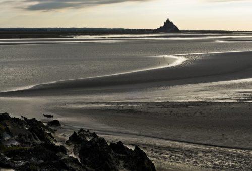 les plages de normandies et les marées